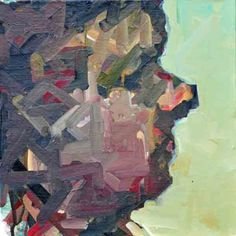 Ruth Franklin, untitled (RF5276), 2012, acrylic on canvas, 12x12 in  $750 USD