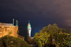 Al-Bahr Mosque Jaffa - Yāfō  The #alBahrMosque (The Sea #Mosque) is the oldest extant mosque in #Jaffa Israel. It is situated on the Haaliya #Hashniya #harbor and therefore often referred to as the #SeaMosque. Due to its proximity to the Mediterranean Sea #fishermen and sailors used the mosque as well as nearby inhabitants of the surrounding area  #TelAvivYafo #Israel. District:Central District Architectural style: Ottoman architecture Number of minarets:1