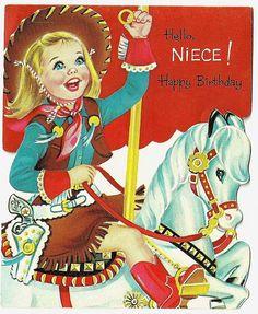 Vintage Happy Birthday Cards | Vintage Happy Birthday Greeting Card 81 | Flickr - Photo Sharing!