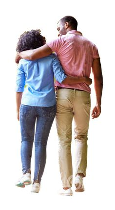 Couple arm over shoulder walking People Cutout, Cut Out People, Photoshop Rendering, Photoshop Elements, Photoshop Images, Photoshop Tutorial, Render People, People Png, Architecture People