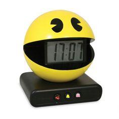 Un réveil Pacman, pour une chambre à coucher ultra geek !