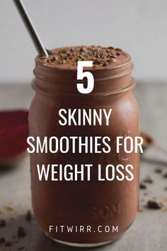 5 Best Smoothie Recipes for Weight Loss. 5 Skinny smoothies for weight loss. 5 delicious and nutrient rich smoothie recipes for weight loss. Begin your day with one of these weight loss drinks to quell hunger and rev your metabolism. Best Smoothie Recipes, Good Smoothies, Juice Smoothie, Smoothie Drinks, Detox Drinks, Healthy Drinks, Healthy Snacks, Low Calorie Smoothies, Healthy Coffee Smoothie