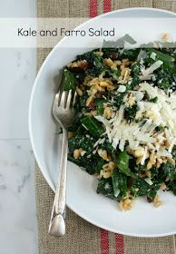 Authentic Suburban Gourmet: Kale and Farro Salad