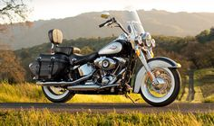 2013 Harley-Davidson Heritage Softail Classic Gets Anniversary Custom Options [Photo Gallery] - I Love Harley Bikes Classic Motorcycles For Sale, Touring Motorcycles, Touring Bike, Custom Motorcycles, Vintage Motorcycles, Motos Harley Davidson, Harley Davidson Heritage, Heritage Softail, Motorcycle Windshields
