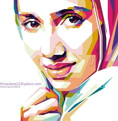 Girl In WPAP on Behance