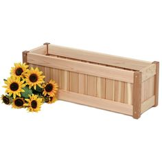 Planters and window boxes have become an economical way to beautify many patios, verandas and windowsills. There is no match for an attractively arranged, Western Red Cedar planter or window box. Wherever placed our cedar planters are an excellent additio Cedar Planter Box, Garden Planter Boxes, Window Planter Boxes, Rustic Wood Furniture, Garden Furniture, Adirondack Furniture, Adirondack Chairs, Western Red Cedar, Raised Garden Beds