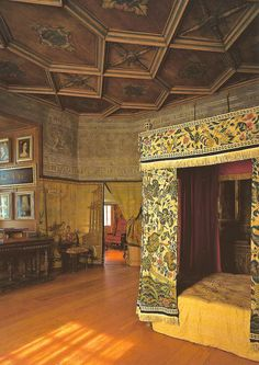 Mary, Queen of Scots' Bedchamber at the Royal Palace of Holyroodhouse Edinburgh Scotland
