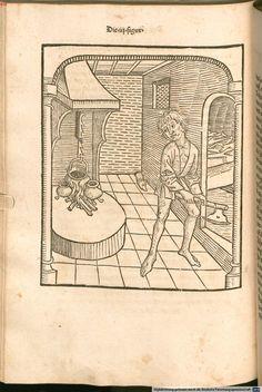 Johannes :  Das buch der weißhait oder der alten weisen  Ulm 1484, Pg 202