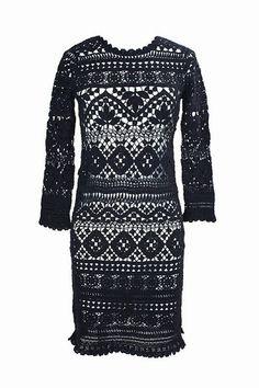 Ажурное платье крючком от Isabel Marant. Обсуждение на LiveInternet - Российский Сервис Онлайн-Дневников