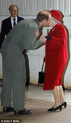 Prince William also credited the Queen for helping him through the loss of his mother, Dia...