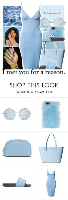 """""""I Met You For A Reason."""" by chynelledreamz ❤ liked on Polyvore featuring Skinnydip, MICHAEL Michael Kors, Kate Spade and Givenchy"""