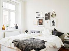 Photographer unknown #bedroom #white #room #interior