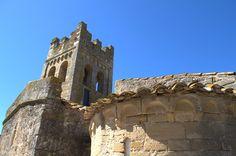 Detalle de los ábsides. Sant Esteve de Canapost. Girona