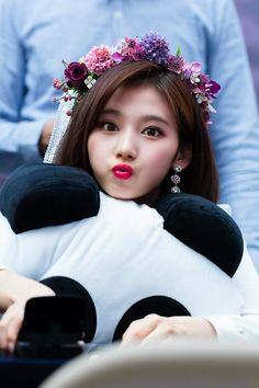 Sana-Twice 180429 Fansign Event Nayeon, Kpop Girl Groups, Korean Girl Groups, Kpop Girls, K Pop, Sana Kpop, Sana Cute, Sana Minatozaki, Twice Once