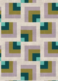 Geometric #3 from Charlie's Dreams. Quilty inspiration!