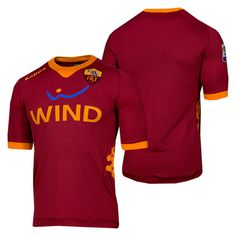 5c2cdeaa26 Authentic Kappa AS Roma 2012 Home Soccer Jersey Soccer Gear