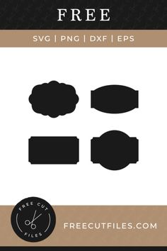 Svg Shapes, Label Shapes, Free Svg Cut Files, Svg Files For Cricut, Christmas Toilet Paper, Silhouette Cutter, Silhouette Cameo, Cricut Craft Room, Cricut Creations