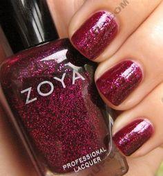 Zoya nail polish. It's simply the best.
