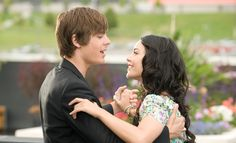 Zac Efron turns 27 on Saturday, and his birthday has us reminiscing about his breakout role as Troy Bolton Disney's 2006 movie, High School Musical, and its Troy Bolton, Disney Channel, Vanessa Hudgens, Zac Efron High School, Gabriela Montez, Zac Efron And Vanessa, Troy And Gabriella, Comedia Musical, High School Musical 3