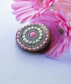piedra de Mandala hecho por encargo