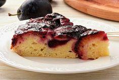 Saftig plommekake French Toast, Cheesecake, Breakfast, Desserts, Food, Morning Coffee, Tailgate Desserts, Deserts, Cheesecakes