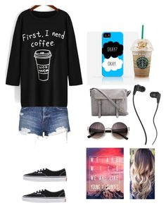 """""""Calm (I would wear this)"""" by creative-with-fashion ❤ liked on Polyvore featuring Topshop, Vans, Skullcandy and YASSCECILIA"""
