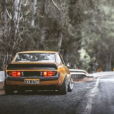 Troy's #RA23 #Toyota #Celica is still running hot on our blog. Head to fueltank.cc and scroll down f