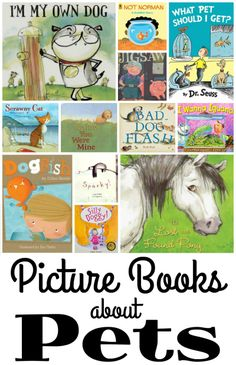 Picture Books about Pets from Youth Literature Reviews.