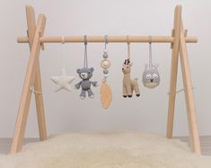 Cowboy Baby play gym OR baby gym mobiles. Cowboy Baby, Bebe Gym, Wood Baby Gym, Wooden Feather, Feather Mobile, Hanging Bar, Play Gym, Frame Stand, Woodland Baby