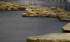 Stone exhibition comes to the Glass Tank Oxford Brookes University, Flow, March, Deep, Display, Stone, Gallery, Glass, Floor Space