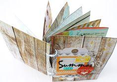 Scrap Plaisir : le scrap de shannon91: ** Mini album free style : Summer 2012 **