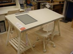Ikea drafting table art studio pinterest art desk ikea house