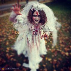 Corpse Bride - Halloween Costume Contest at Costume-Works.com  sc 1 st  Pinterest & Kids Zombie Bride Costume - Spirithalloween.com | Halloween ...