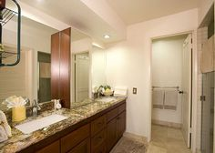Wailea Grand Champions #1308186 | Maui Hawaii Vacations Master Bath with Double Vanity and Oversize walk in shower with dual shower heads