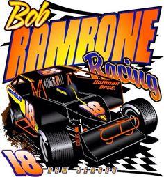 Car racing design for t-shirts