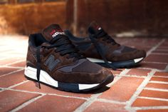 """New Balance 998 """"Made in the USA"""" Brown 