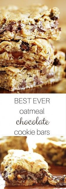 These bars sell out fast and furious and cement you in AWESOME mom status! Oatmeal Cookie Bars, Chocolate Oatmeal Cookies, Chocolate Chip Bars, Oatmeal Scotchies, Oatmeal Dessert, Oatmeal Squares, Oatmeal Yogurt, Peanut Butter Oatmeal Bars, Oatmeal Muffins