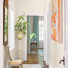 The 2015 Charlottesville Idea House: The Hallway