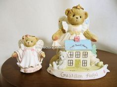 Cherished Teddies Guard Me From Above, With Love Used No Box #CherishedTeddies