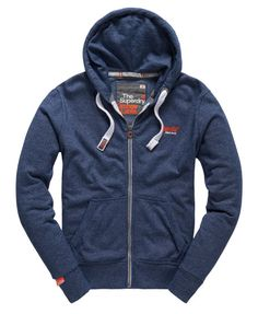 Superdry Sweat à capuche zippé Orange Label
