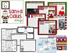Santa Claus Day activities for 1-3rd grade. 12 Days of Christmas in the Classroom by The Core Coaches