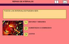El Lenguaje Musical de Fátima: REPASANDO INTERVALOS