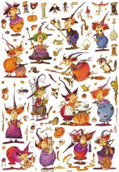 Retro Halloween, Halloween Clipart, Spooky Halloween, Holidays Halloween, Halloween Crafts, Happy Halloween, Halloween Decorations, Halloween Illustration, Adornos Halloween