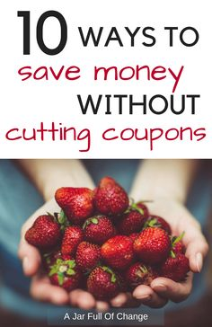 Feeding a family can get insanely expensive. Save on groceries without coupons with these money-saving ideas to help you get your grocery budget back in check. via @jarfullofchange