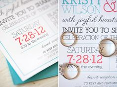 I like these invitations...all the different fonts and colors. So cool!