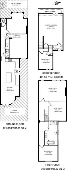 3 bed house floor plan rear extension google search 3 bedroom apartment house plans