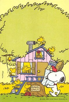 Snoopy's clubhouse