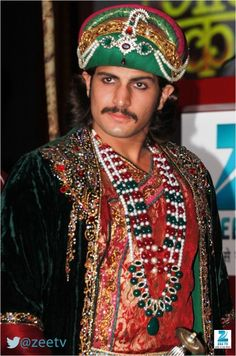 Rajat Tokas as Akbar in Zee TV's #JodhaAkbar