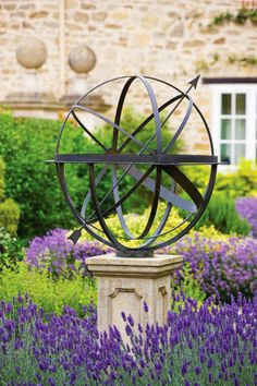 Awesome Armillary Sphere Sundial   Modern   Garden Sculptures   London   By David  Harber