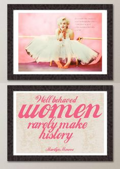 2 vintage pink Marilyn Monroe Pop Art Modern Print Poster wall room decor GIFT